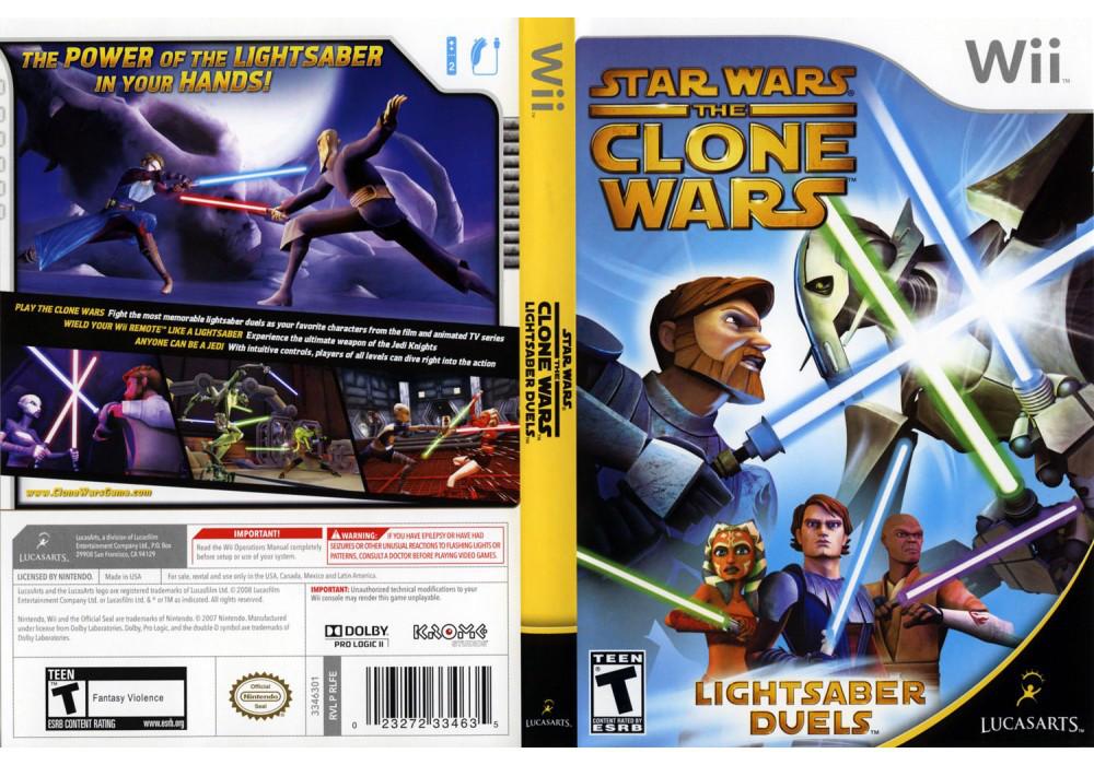 Игра для игровой консоли Nintendo Wii (PAL), Star Wars The Clone Wars: Lightsaber Duels