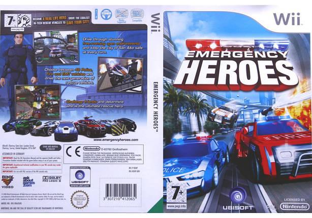 Игра для игровой консоли Nintendo Wii (PAL), Emergency Heroes, фото 2