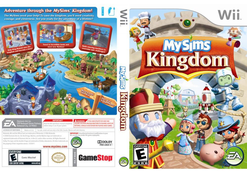 Игра для игровой консоли Nintendo Wii (PAL), MySims Kingdom
