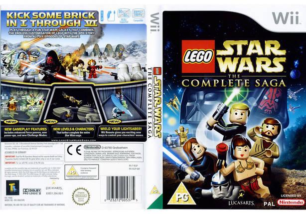Игра для игровой консоли Nintendo Wii (PAL), LEGO Star Wars: The Complete Saga, фото 2
