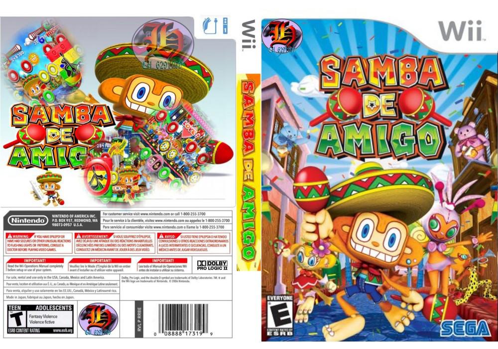 Игра для игровой консоли Nintendo Wii (PAL), Samba de Amigo