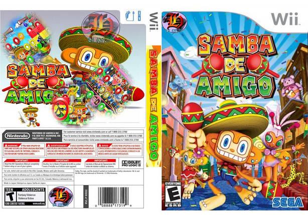 Игра для игровой консоли Nintendo Wii (PAL), Samba de Amigo, фото 2