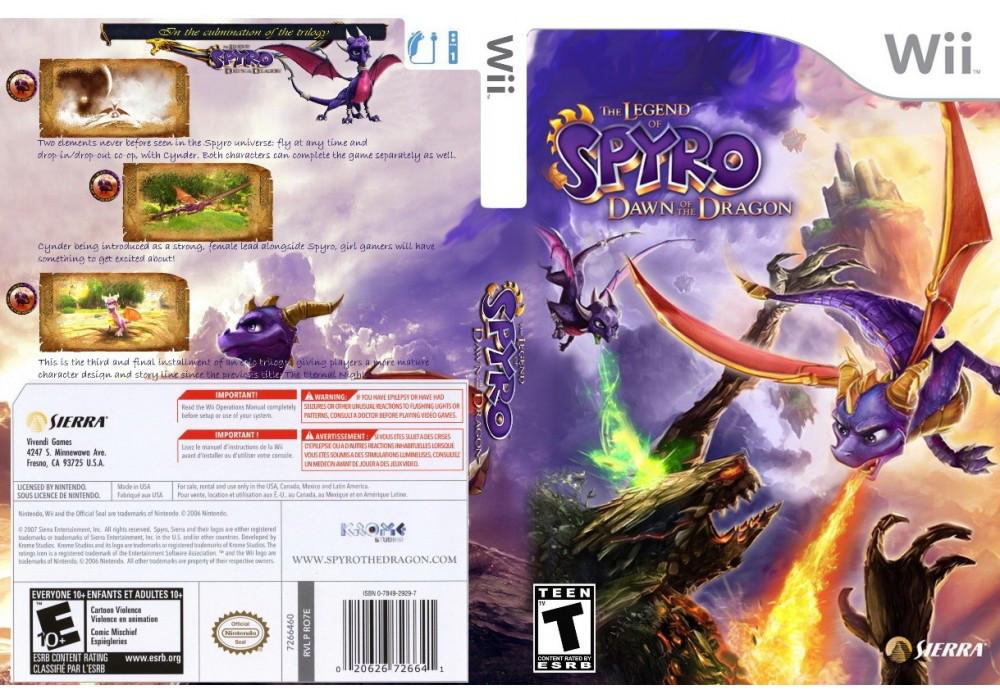 Игра для игровой консоли Nintendo Wii (PAL), The Legend of Spyro: Dawn of the Dragon