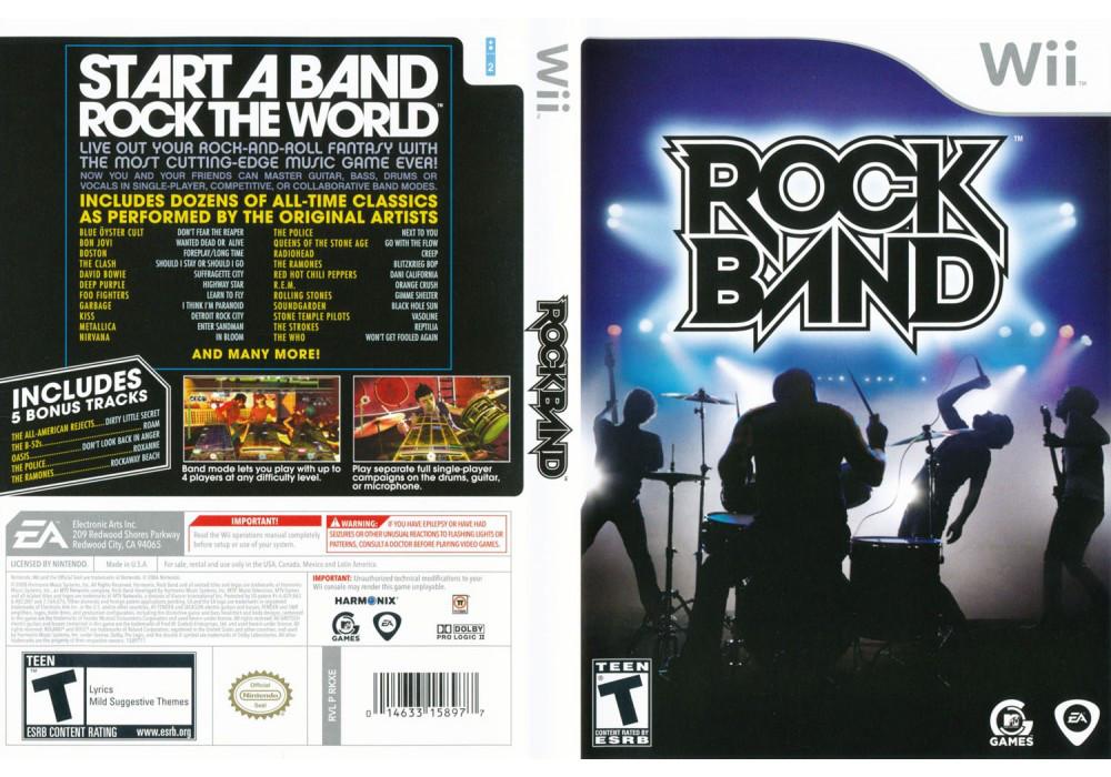 Игра для игровой консоли Nintendo Wii (PAL), Rock Band