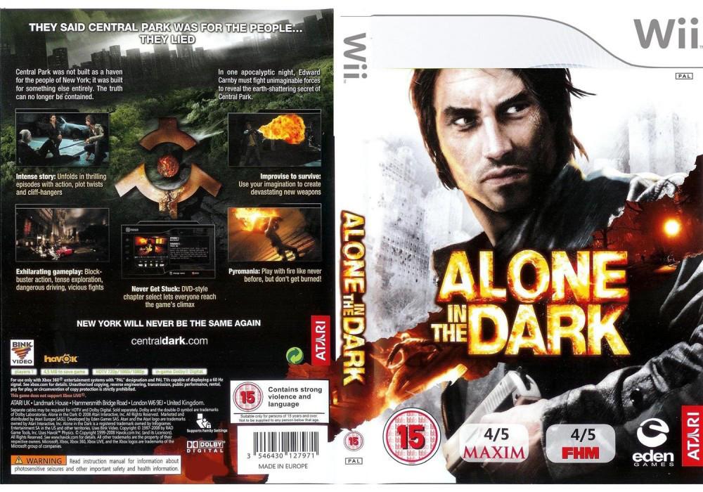 Игра для игровой консоли Nintendo Wii (PAL), Alone in the Dark