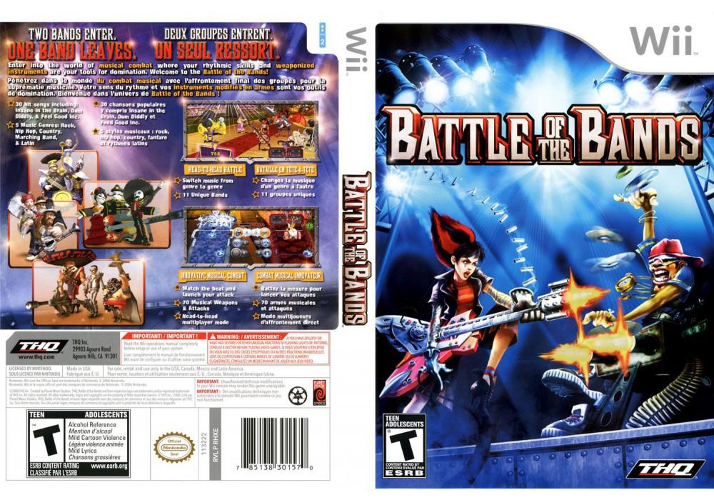 Игра для игровой консоли Nintendo Wii (PAL), Battle of the Bands