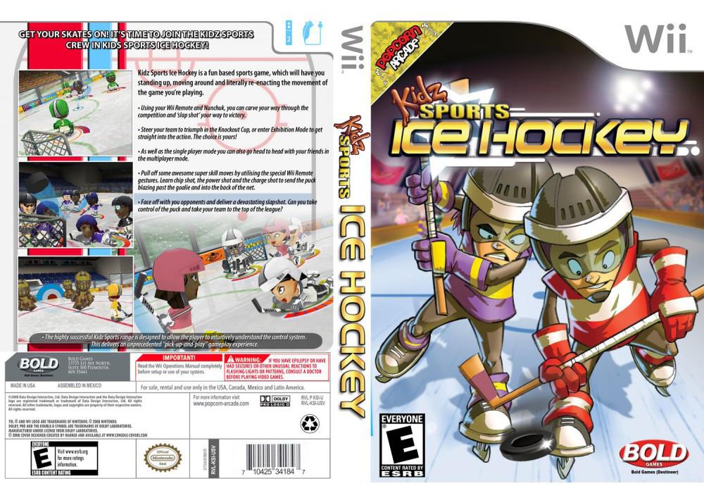 Игра для игровой консоли Nintendo Wii (PAL), Kidz Sports Ice Hockey