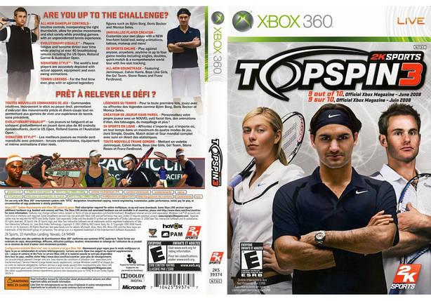 Игра для игровой консоли Nintendo Wii (PAL), Top Spin 3, фото 2