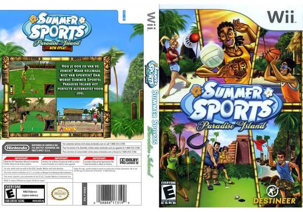Игра для игровой консоли Nintendo Wii (PAL), Summer Sports: Paradise Island, фото 2