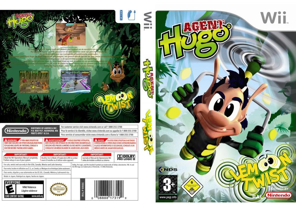 Игра для игровой консоли Nintendo Wii (PAL), Agent Hugo Lemoon Twist