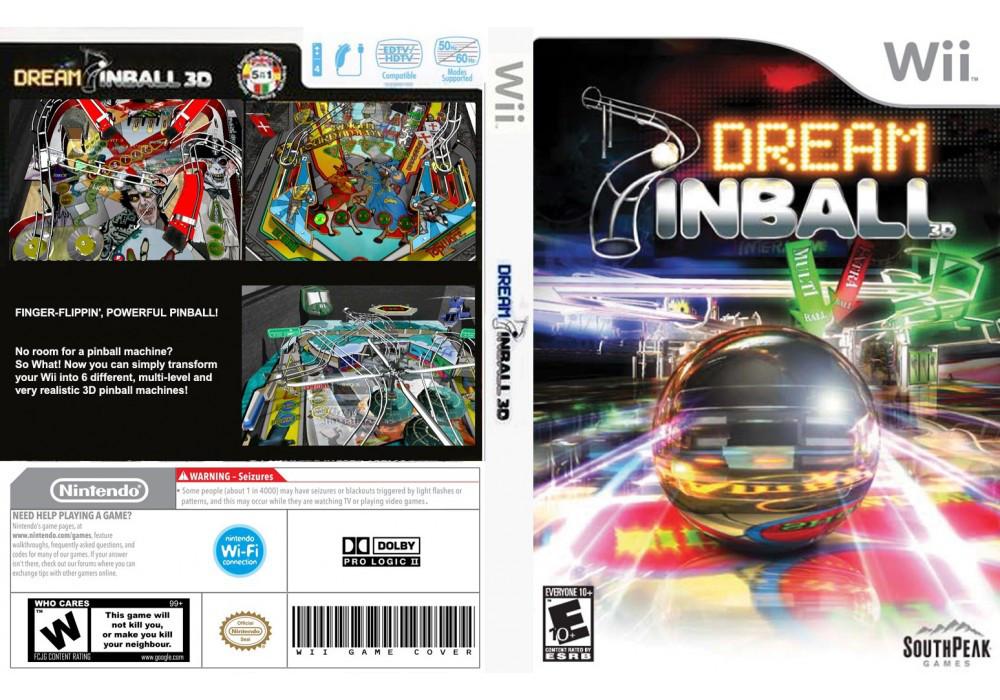 Игра для игровой консоли Nintendo Wii (PAL), Dream Pinball 3D