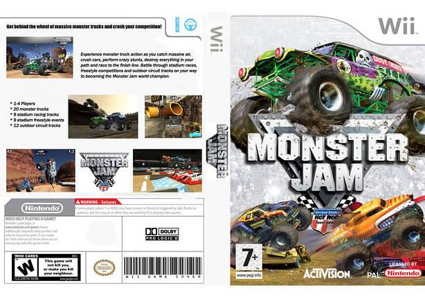 Игра для игровой консоли Nintendo Wii (PAL), Monster Jam, фото 2