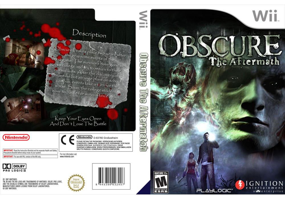 Игра для игровой консоли Nintendo Wii (PAL), Obscure II