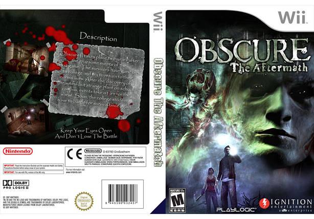 Игра для игровой консоли Nintendo Wii (PAL), Obscure II, фото 2