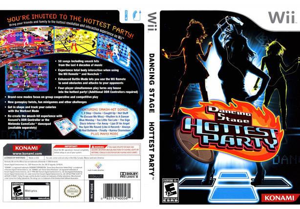 Игра для игровой консоли Nintendo Wii (PAL), Dancing Stage Hottest Party, фото 2