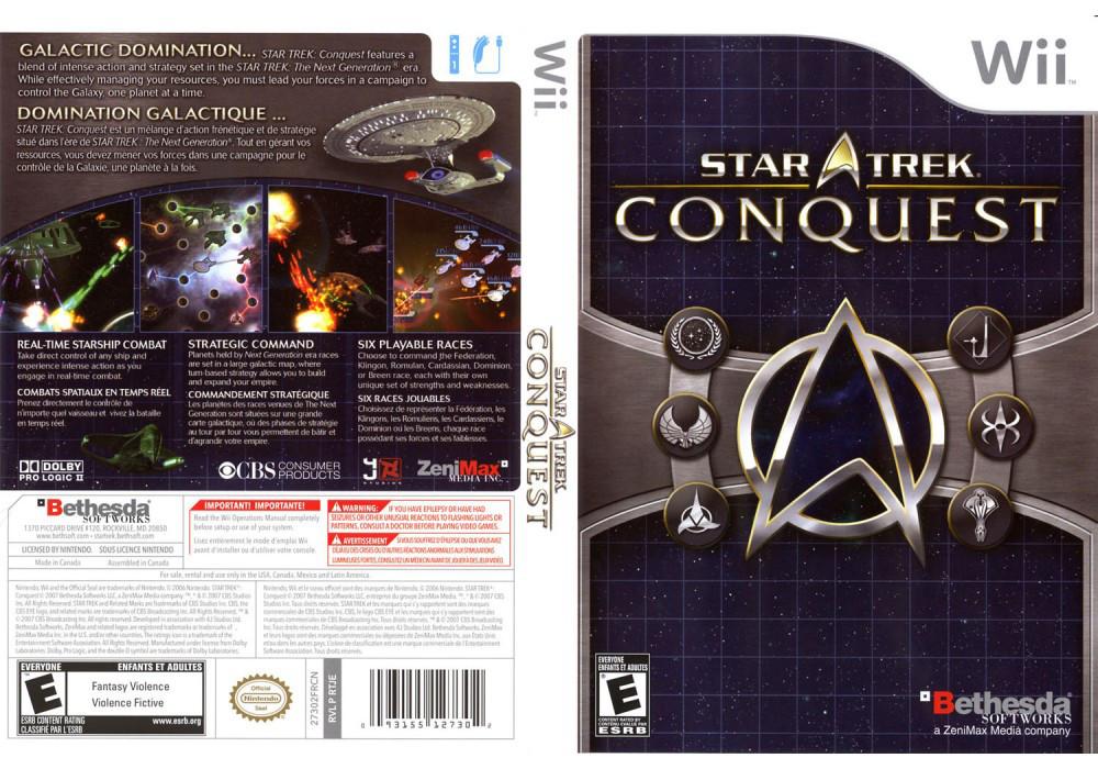 Игра для игровой консоли Nintendo Wii (PAL), Star Trek: Conquest