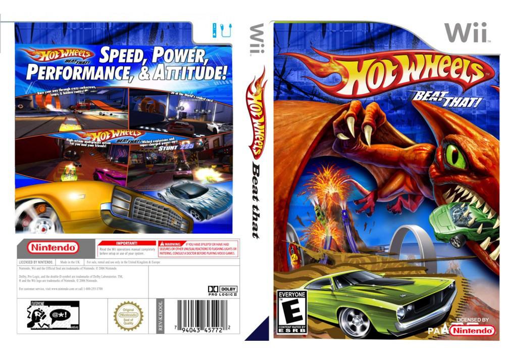 Игра для игровой консоли Nintendo Wii (PAL), Hot Wheels:Beat That