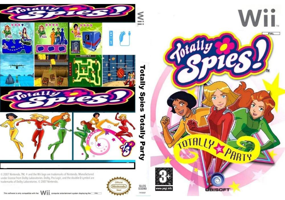 Игра для игровой консоли Nintendo Wii (PAL), Totally Spies! Totally Party