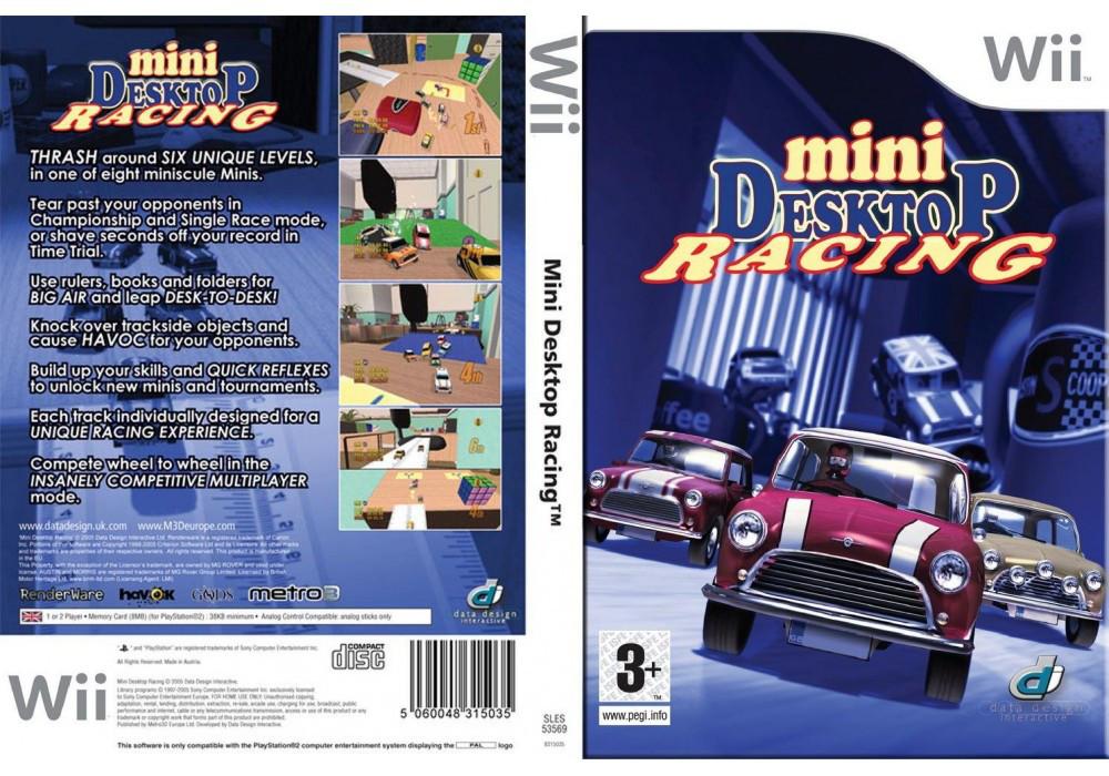 Игра для игровой консоли Nintendo Wii (PAL), Mini Desktop Racing