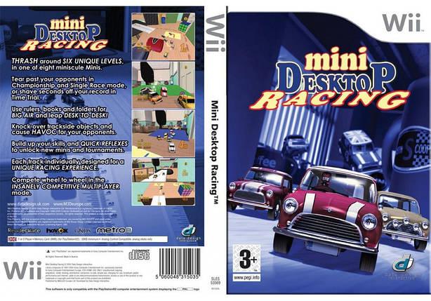Игра для игровой консоли Nintendo Wii (PAL), Mini Desktop Racing, фото 2