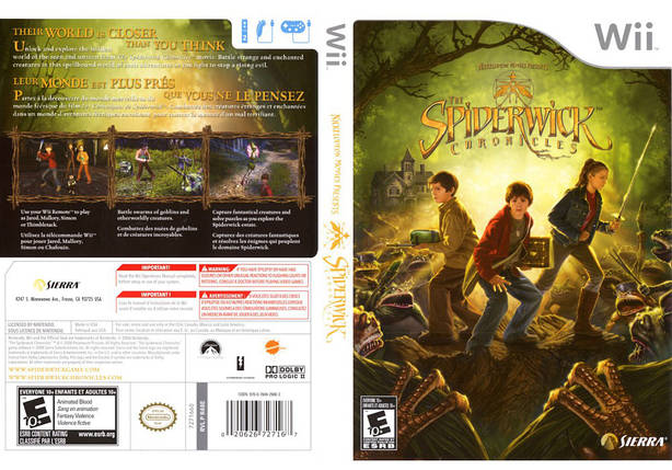 Игра для игровой консоли Nintendo Wii (PAL), The Spiderwick Chronicles, фото 2