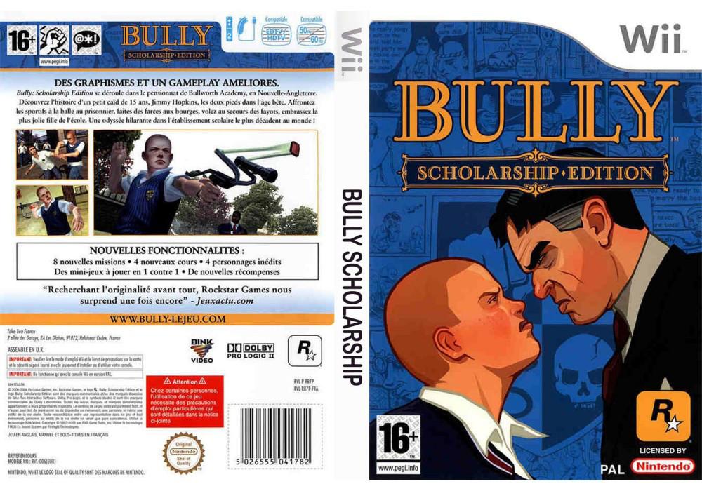 Игра для игровой консоли Nintendo Wii (PAL), Bully: Scholarship Edition