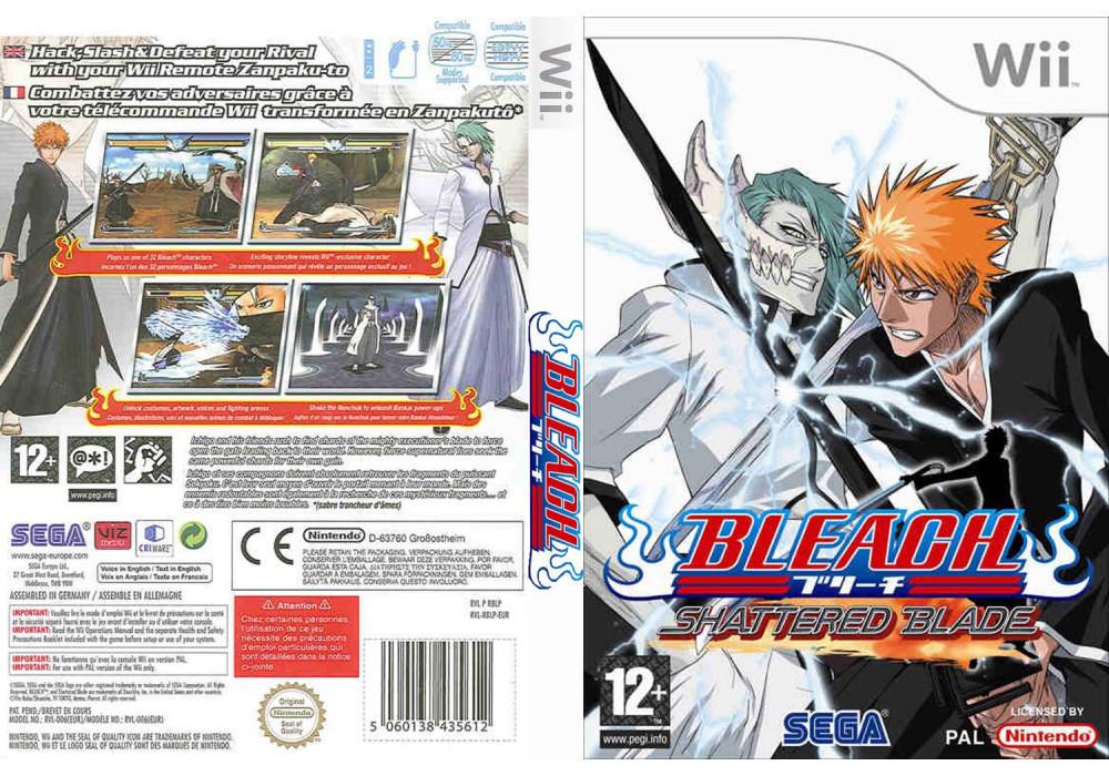 Игра для игровой консоли Nintendo Wii (PAL), Bleach: Shattered Blade