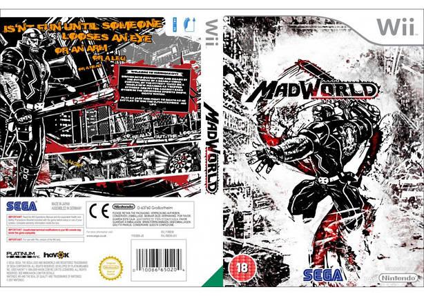 Игра для игровой консоли Nintendo Wii (PAL), MadWorld, фото 2