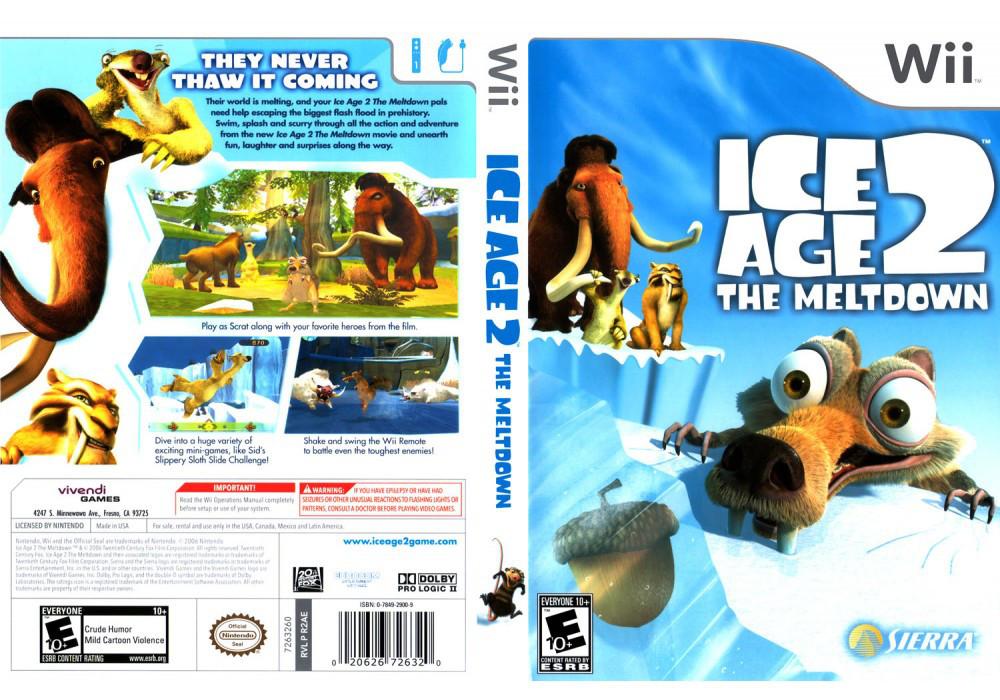 Игра для игровой консоли Nintendo Wii (PAL), Ice Age 2: The Meltdown