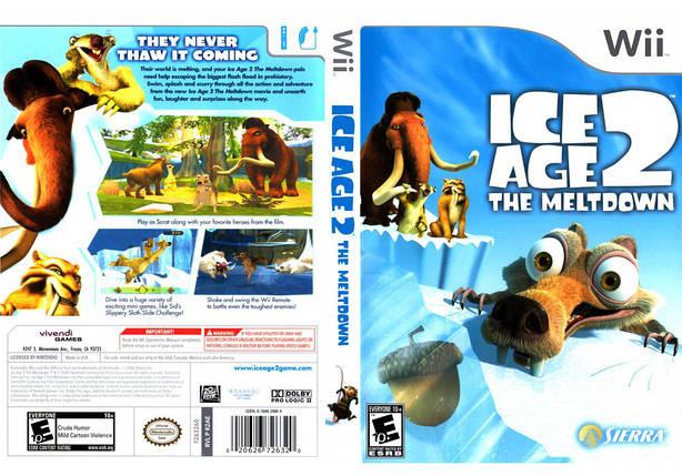 Игра для игровой консоли Nintendo Wii (PAL), Ice Age 2: The Meltdown, фото 2