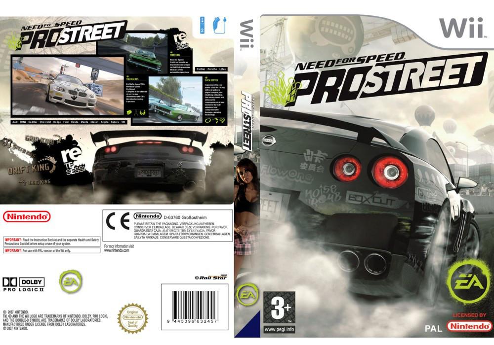 Игра для игровой консоли Nintendo Wii (PAL), Need for Speed ProStreet