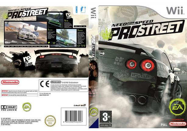 Игра для игровой консоли Nintendo Wii (PAL), Need for Speed ProStreet, фото 2