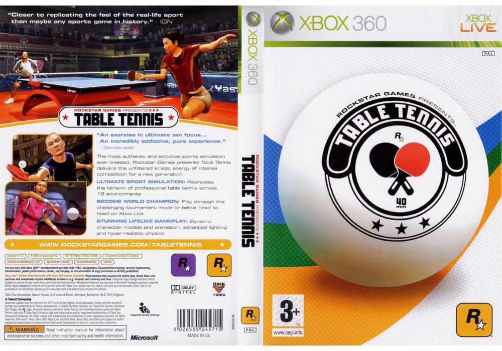 Игра для игровой консоли Nintendo Wii (PAL), Table Tennis