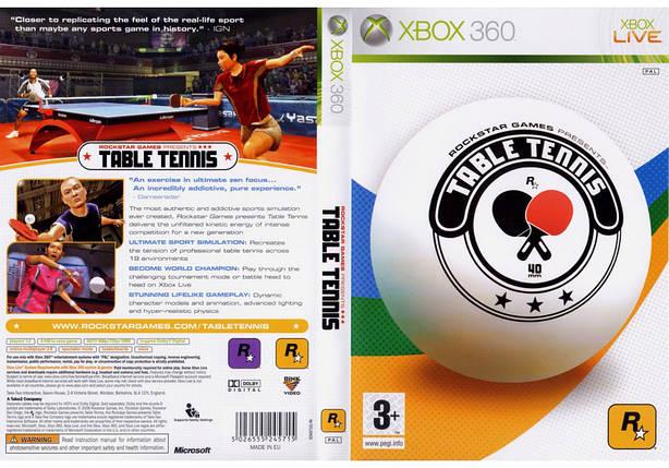 Игра для игровой консоли Nintendo Wii (PAL), Table Tennis, фото 2