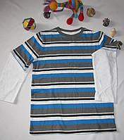 Футболка с длинными рукавами Jumping Beans рост 122 см синяя+серая 07059