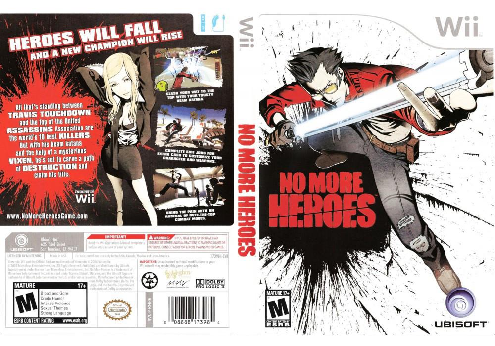 Игра для игровой консоли Nintendo Wii (PAL), No More Heroes