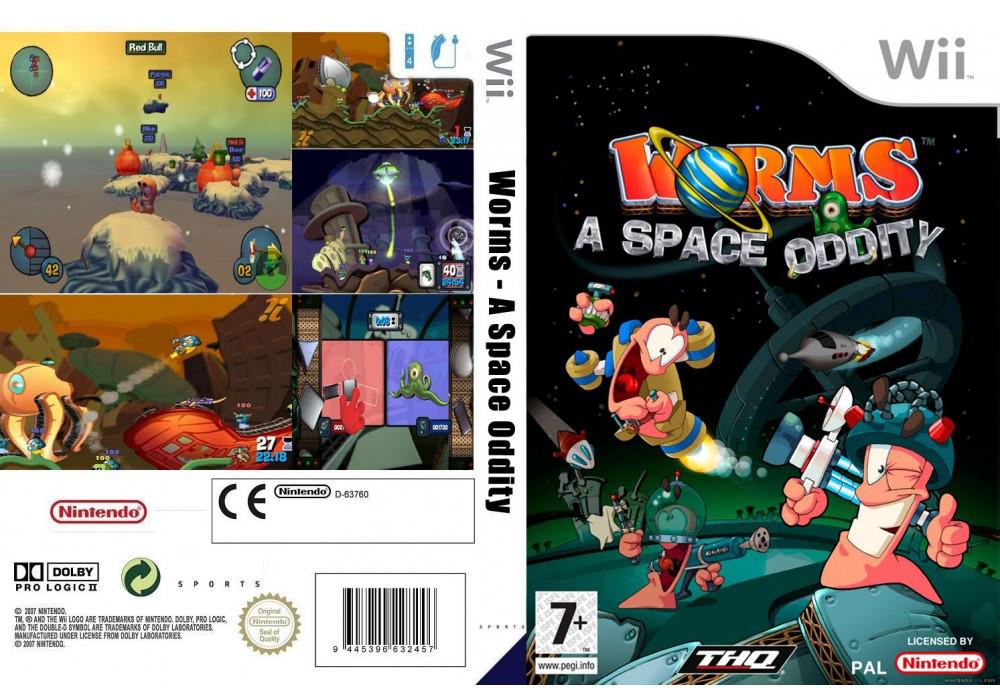 Игра для игровой консоли Nintendo Wii (PAL), Worms: A Space Oddity
