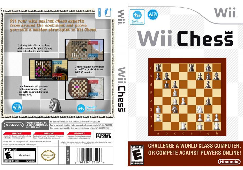 Игра для игровой консоли Nintendo Wii (PAL), Wii Chess