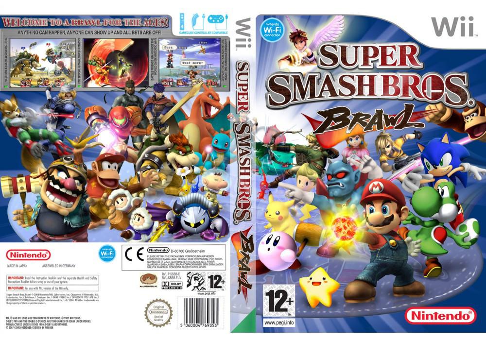 Игра для игровой консоли Nintendo Wii (PAL), Super Smash Bros Brawl