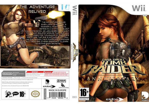 Игра для игровой консоли Nintendo Wii (PAL), Tomb Raider Anniversary, фото 2