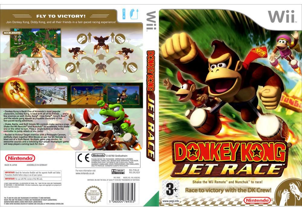 Игра для игровой консоли Nintendo Wii (PAL), Donkey Kong Jet Race