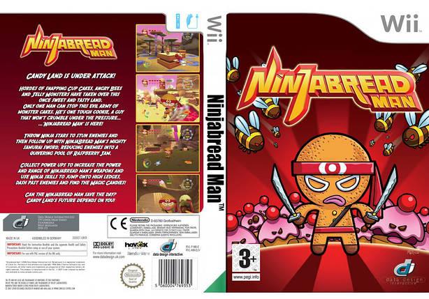 Игра для игровой консоли Nintendo Wii (PAL), NinjaBread Man, фото 2