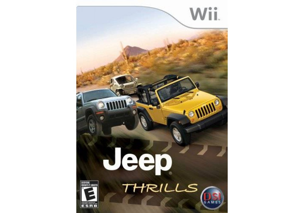 Игра для игровой консоли Nintendo Wii (PAL), Jeep Thrills
