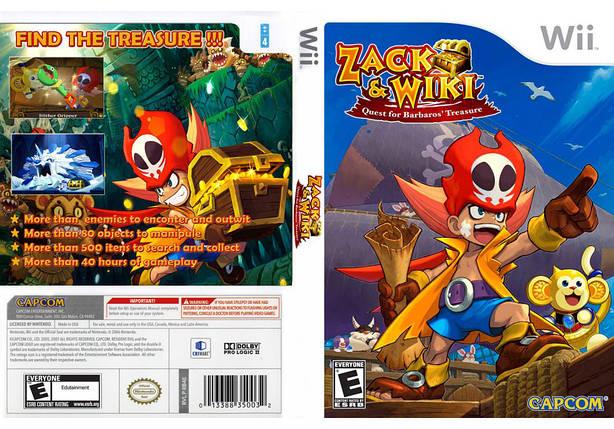 Игра для игровой консоли Nintendo Wii (PAL), Zack & Wiki: Quest for Barbaros\' Treasure, фото 2