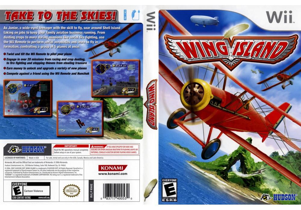 Игра для игровой консоли Nintendo Wii (PAL), Wing Island