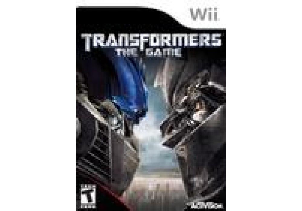Игра для игровой консоли Nintendo Wii (PAL), Transformers: The Game