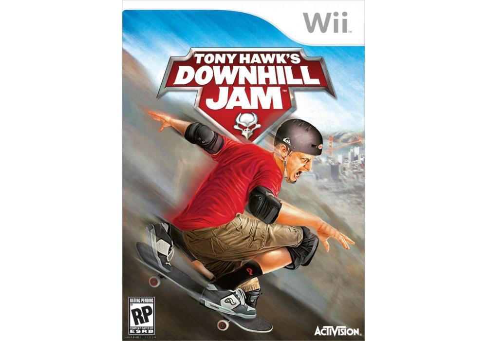 Игра для игровой консоли Nintendo Wii (PAL), Tony Hawk\'s Downhill Jam