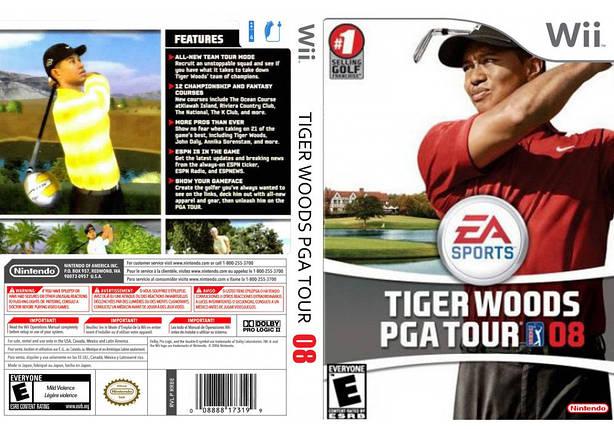 Игра для игровой консоли Nintendo Wii (PAL), Tiger Woods 08, фото 2
