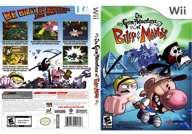 Игра для игровой консоли Nintendo Wii (PAL), The Grim Adventures, фото 2