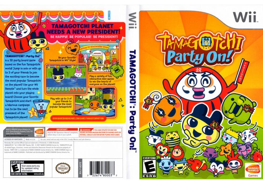 Игра для игровой консоли Nintendo Wii (PAL), Tamagochi Party On